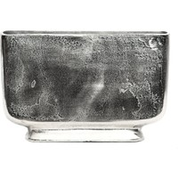 Silver Küçük Boy Metal Vazo