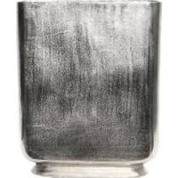 Silver Büyük Boy Metal Vazo