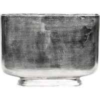Silver Orta Boy Metal Vazo