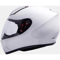 MT Kask MT Revenge Solid Gloss White Full Face