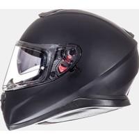MT Kask MT Thunder 3 SV Solid Matt Black Full Face Güneş Vizörlü
