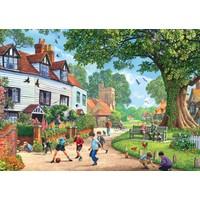 Falcon Puzzle 1000 Parça Brenchley Köyü (Steve Crisp)