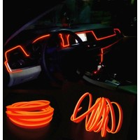 ModaCar Turuncu Araç İçine Neon Kablo 5 Metre 378821