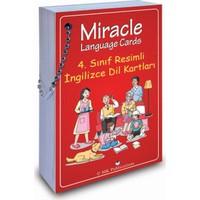 4. Sınıf Resimli İngilizce Dil Kartları (Miracle Language Cards)