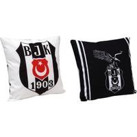 Taç Lisanslı Kırlent Beşiktaş