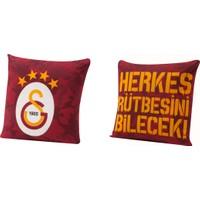 Taç Lisanslı Kırlent Galatasaray Rütbe