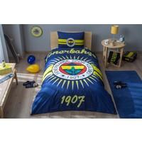 Taç Glowlu Fenerbahçe Parlayan Güneş Lisanslı Tek Kişilik Nevresim Takımı