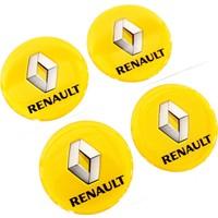 Simoni Racing Renault Yazılı Jant Göbek Arması 106313