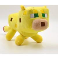 Minecraft 24 Cm Peluş Bön Bön Bakan Sarı Ocelot