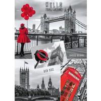 Dino Puzle 1000 Parça Londra Kolajı Puzzle