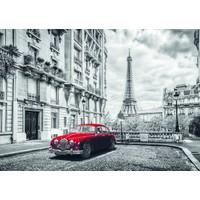 Dino Puzzle 1000 Parça Paris'te Jaguar Puzzle