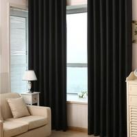 Brillant Blackout Karartma Güneşlik Perde Pilesiz Siyah - 150x200 cm