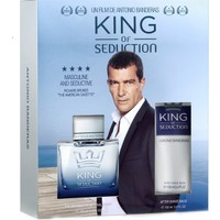 Antonio Banderas King Of Seduction Absolute Set ( Edt 100 Ml + After Shave Balm 100 Ml)