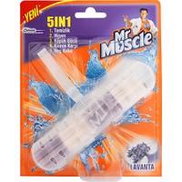 Mr Muscle 5 In 1 Klozet Blok Lavanta 30 g