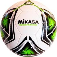 Mikasa El Dikişli Halı Saha Futbol Topu Regateador5-G Beyaz-Yeşil