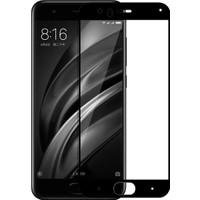 Case 4U Xiaomi Mi 6 Mi6 Full Kapatan Kırılmaz Cam Ekran Koruyucu Siyah