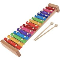 Wooden Toys Percussion İnstrument 15 Tones Ksilofon