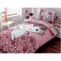 Hello Kitty Nevresim Takımı Rose