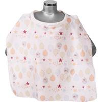 Sevi Bebe Emzirme Örtüsü Tokalı Balon Desen