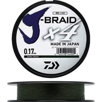 Daiwa J-Braid 4 Kat 270mt Koyu Yeşil Örgü İp Misina 0,21 mm