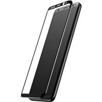 Baseus Samsung Galaxy S8 Plus 3D Kırılmaz Cam Ekran Koruyucu Siyah
