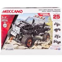 Meccano 25 Model Set - 4X4 Off-Road Truck