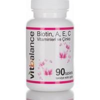 Vitbalance Saç,Cilt ve Tırnak Vitamini - 90 Tablet