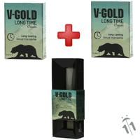 V-Gold Long Time 5 Li Krem * Adet Ve V-Gold Kalem