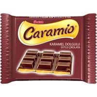 Ülker Caramio Karamel Dolgulu Kare Çikolata 60 Gr