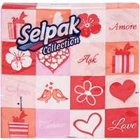 Selpak Collection Desenli Peçete 20'li
