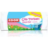 Cook Çöp Torbası Küçük Boy 40X47 Cm