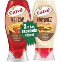 Calve Ketçap 420 Gr + Mayonez 360 Gr
