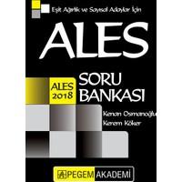 Pegem Yayınları 2018 ALES Eşit Ağırlık ve Sayısal Adaylar için Soru Bankası