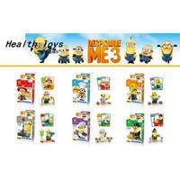 Minions Lego Uyumlu Minyonlar 6 Set Figür