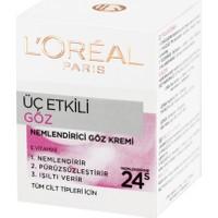 Loreal Paris Dermo Expertise 3 Etkili Göz Bakım Kremi 15 Ml