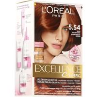 Loreal Paris Excellence 5/54 - Koyu Akaju Kahve Saç Boyası