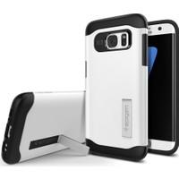 Spigen Samsung Galaxy S7 Edge Kılıf Slim Armor - Shimmery White - 556CS20039