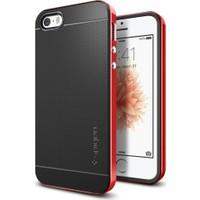 Spigen Apple iPhone Se/5S/5 Kılıf Neo Hybrid Dante Red