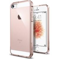 Spigen Apple iPhone Se/5S/5 Kılıf Ultra Hybrid Rose Crystal
