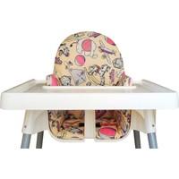 İkea Antilop Mama Sandalyesi İçin Oturma ve Destek Minderi - Baby in The Dream