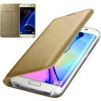 Coverzone Samsung Galaxy C9 Pro Kılıf Flip Cover + Cam