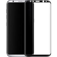 Coverzone Samsung Galaxy S8 Plus Tam Kaplayan Kırılmaz Cam Koruyucu Siyah