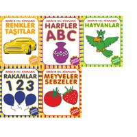 Parıltı Yayınları Benim Renkli Kitaplarım - 5 Kitap Set