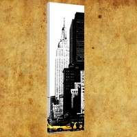 Rengo - New York - Kanvas Tablo (0149) 20x80 cm