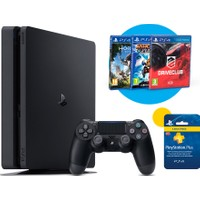 Sony Playstation 4 500 Gb Slim Siyah Oyun Konsolu Cuh-2016A (Sony Eurasia Garantili)