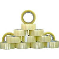 AraBulGelsin 6 Adet 100 Metre Koli Bandı - 45 x 100 Metre Şeffaf Kuvvetli Yapışkan Bant
