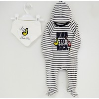 İdilbaby 8907 Bebek Tulum Takımı