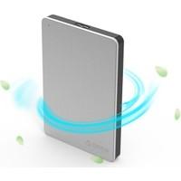 OricoMD25U3-SV USB 3.0 to SATA 2.5'' Aluminyum Harici Harddisk Kutusu - Gümüş