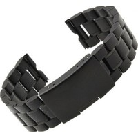 Case 4U Samsung Gear S2 Classic Metal Saat Kayışı Siyah