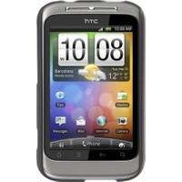 Case 4U HTC Wildfire S Siyah Kapak